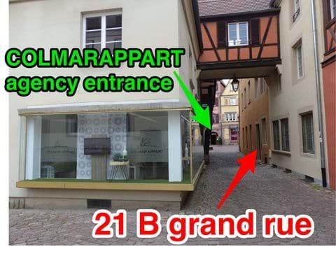 COLMARAPPART AGENCY 4 rue basque