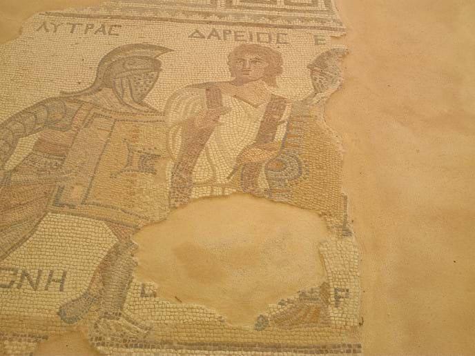 Kourion Mosaic, one of many.
