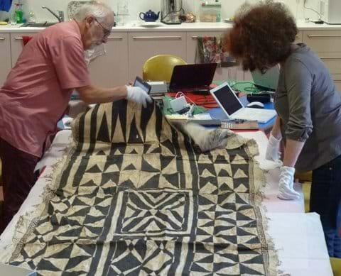 Looking at Fijian barkcloth, Bexhill Museum