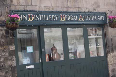 ...makes the finest gin in Bath; Bath No.1