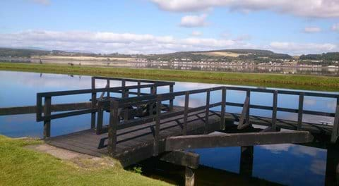 The Caledonian Canal, overlooking the Moray Firth towards the Black Isle