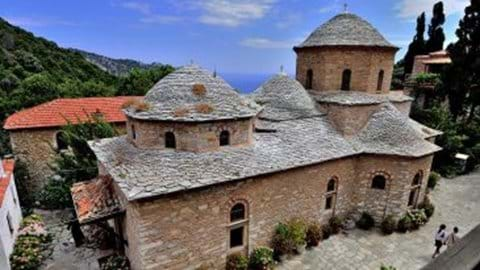 Evangelistria Monastery - restored and active