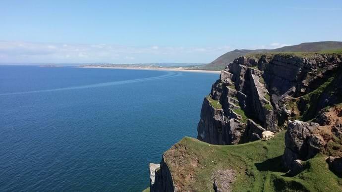 The Cliffs, Rhossili Bay
