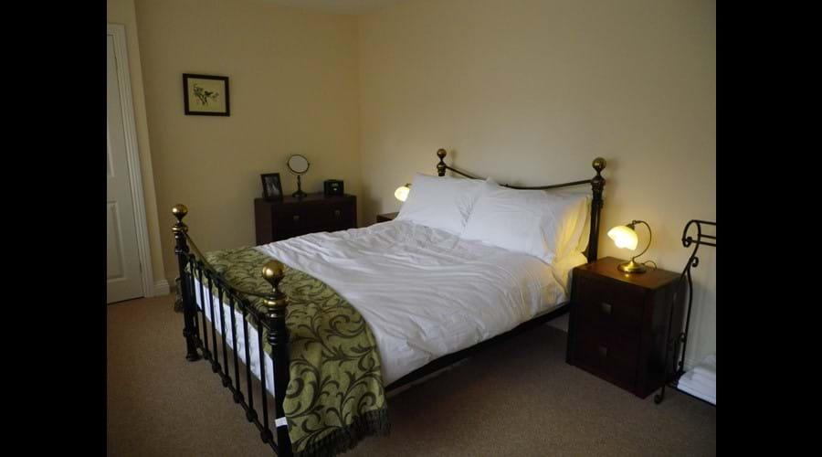 Holiday Cottage master bedroom