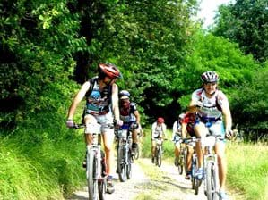 Mountain and road biking are very popular with visitors