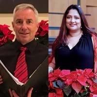 Sean, Treasurer ; Aarti, events planning