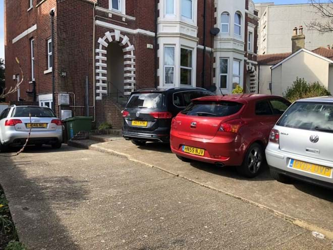 Home from Home Portsmouth - Private parking
