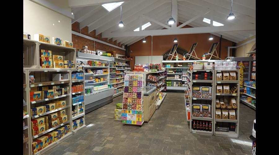 The new shop, open from 8am to 6pm every day.