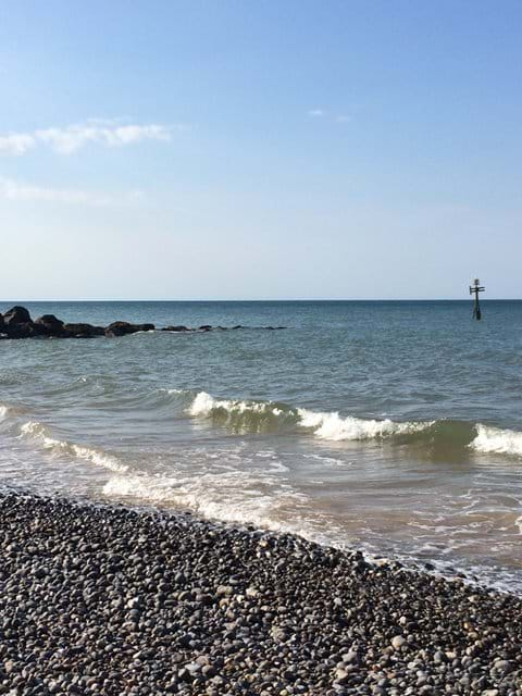 Sheringham Beach (High tide)