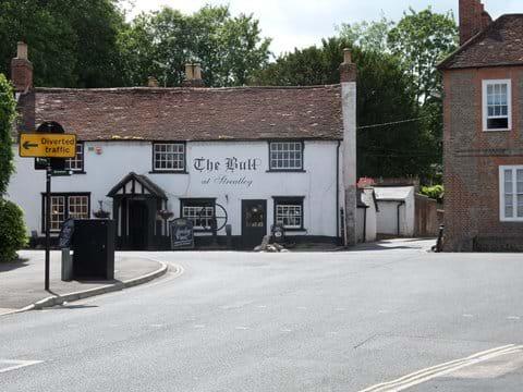 The Bull public house at Streatley