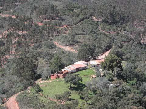 Arial view of hamlet