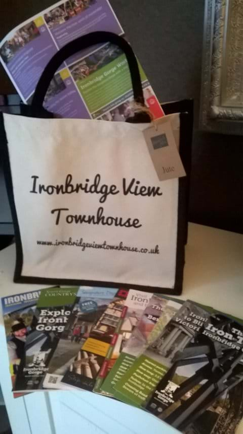 WELCOME TO IRONBRIDGE VIEW TOWNHOUSE - WE HAVE LOTS OF BEAUTIFUL WALKING GUIDES FOR YOU TO USE