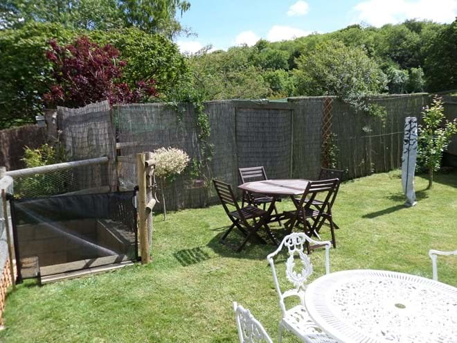 Fully Enclosed Rear Garden with Toddler Safety Gate