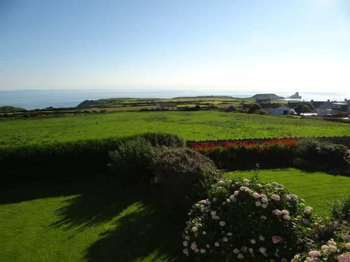 Summer Views from Bedroom window