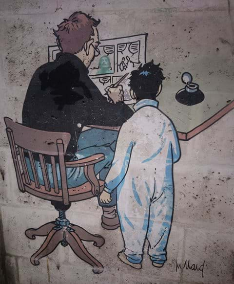 Angouleme is renowned for cartoons