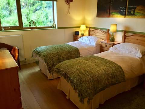 Cottage king/twin zip linked room  as Twin beds