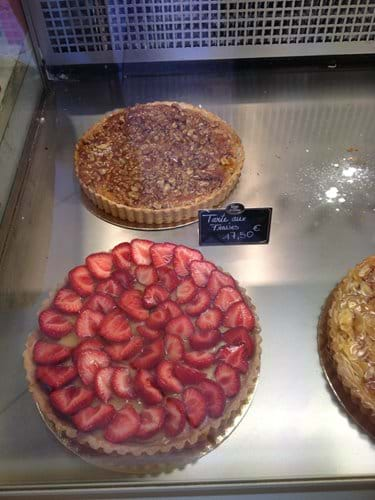Treats in the local patisserie