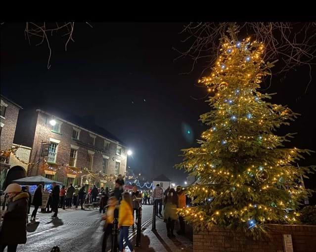 IRONBRIDGE CHRISTMAS LIGHTS DEC 2019