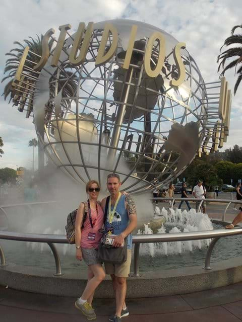 One of our visits to Universal Studios!