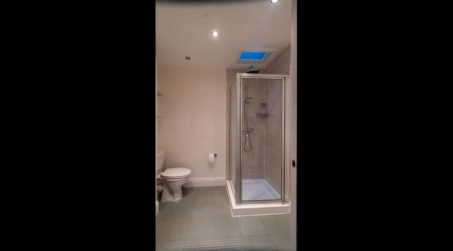 2nd floor Shower room with Shower, wc and washbasin