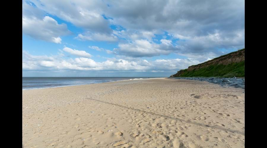 Fabulous beach just 5 minutes walk from chalet