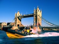 Take a speed boat ride on the Thames