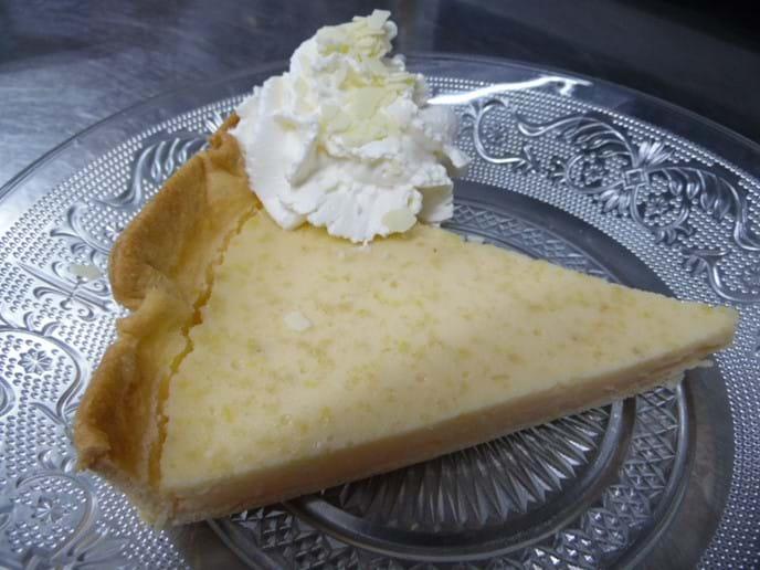 Homemade Lemon Tart.