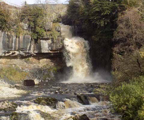 Thornton Force. Ingleton Waterfalls Trail.