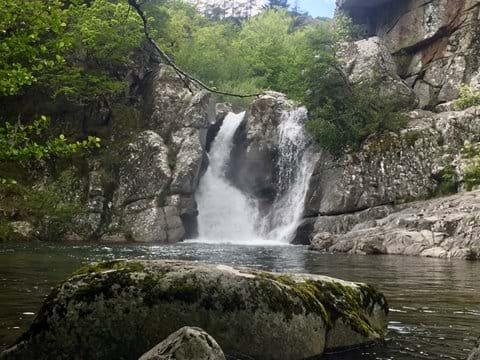 Waterfall near Rousses