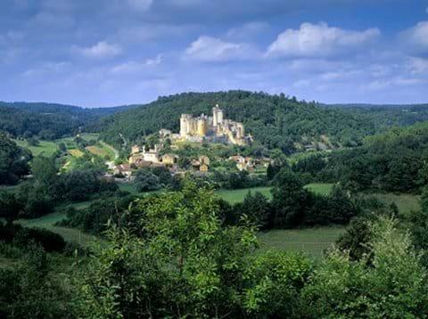 Chateau Bonaguil near Fumel