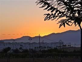 Sunset over Sierra Espuna