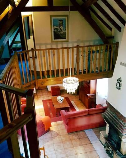 Le Cerisier - Living area
