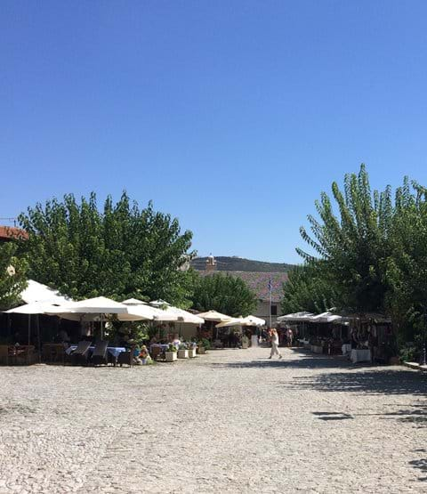 Omodos Village for some shopping and lunch, about 30 mins from Pissouri by car.
