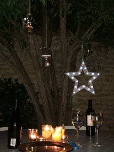 .....a glass under the stars!