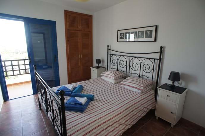 Master Bedroom and Veranda with sea views