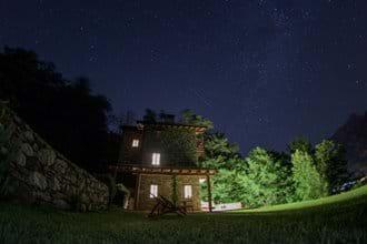 Villa Rustica by night