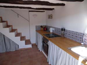 Kitchen and Stairs.