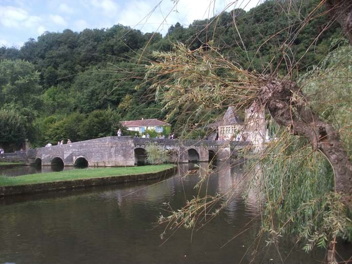 Captivating riverways around Brantome