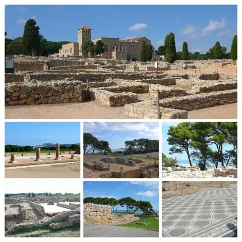 Greek and Roman remains at Empuries.