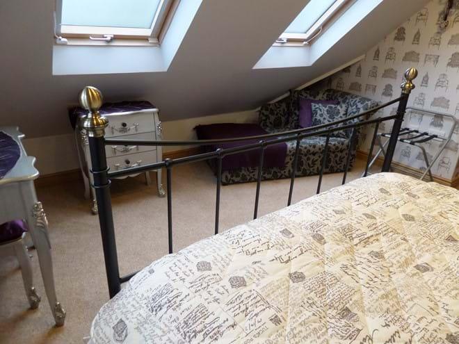 Bedroom 1 - 4' Sofa Bed