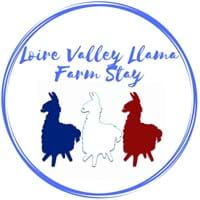 Logo - Loire Valley Llama Farm Stay