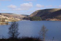 The Elan Valley is 25 minutes drive from the cottage