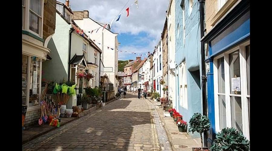 The colourful High Street