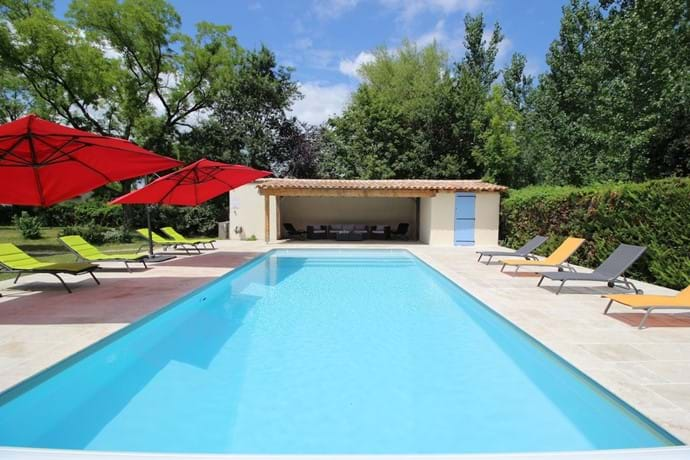 Stunning Heated Swimming Pool - with plenty of loungers on the spacious terrace