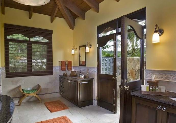 Bathroom with Outdoor Shower