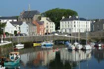Castletown harbour.