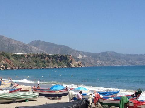 Boats on the beach - Nerja