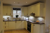 Well-fitted modern kitchen