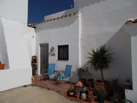 The Entrance to the Casita Higuera, 1 Bedroom House.