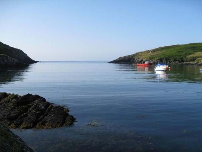 View out to sea from Mill Cove, West Cork